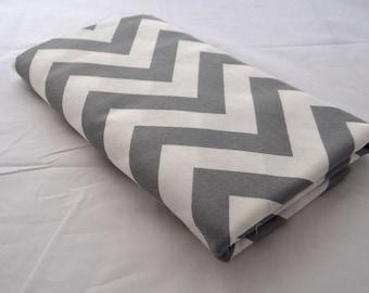 Half Moon MODERN 2 yds Moda Fabric quilting zig zag chevron grey steel grey 2 full yards 32349-21