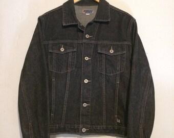 Guess Jeans Black Denim Jacket