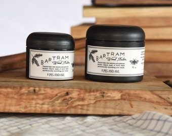 Organic Bartram Wood Balm, Kitchen Wood Butter, Board Butter, Cutting Board Wax, Spoon Oil, Beeswax, Natural Finish, Kitchen Care, Spoon Wax