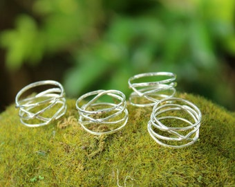 IN STOCK* Winding Ring - Swirly Nest Organically Wrapping Ring