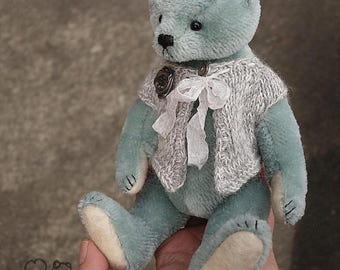 Wendy, OOAK  Mohair Artist Teddy Bear  from Aerlinn Bears