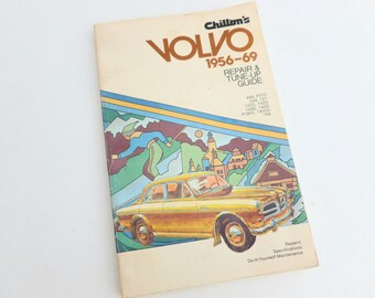 Chilton's Volvo 1956 to 1969 Repair and Tune-Up Guide Book DIY Car Auto Maintenance 1971 Edition