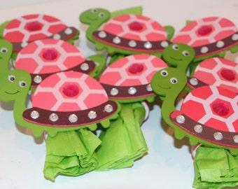 Turtle Napkin Rings Set of 8