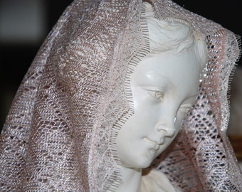 Rose Gold Mantilla in Honour of Saint Lucy