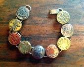 Vintage Overall Button Bracelet