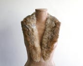 Golden Fur Collar