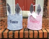 Personalized Easter Basket. Easter Bucket, Easter Basket. Kids Easter, Toy basket, Gift Basket, Baby Shower Gift