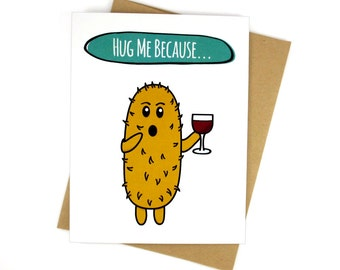 Sexy Cards - Anniversary Gifts For Her - Hug Me - Adult Card
