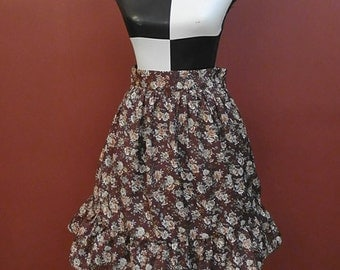 Gothic Lolita Skirt, Otome Casual Lolita, Floral, Classic Lolita Skirt, Pin up