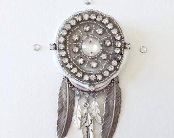 dream catcher brooch