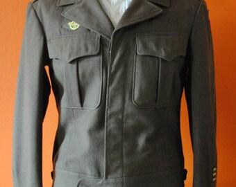 WWII Ike Jacket, sz 38R