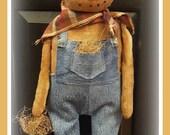 Hector - Primitive Pumpkin Man PATTERN only