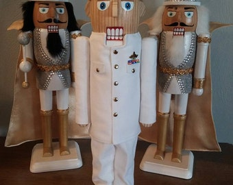Click here to personalize a Military Nutcracker