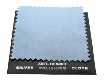 Silver Anti-Tarnish Polishing Cloth -- Perfect for cleaning your bangles and charms   ... 93408.F2