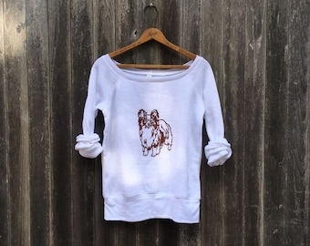 My Charming Little Papillon Sweatshirt, Yoga Top, Dog Shirt, Cute Dog Shirt, S,M,L,XL,2XL