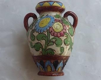 Small Handmade Italian Vase