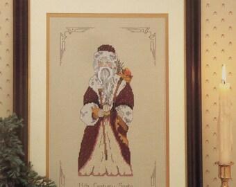 Cross Stitch Pattern 13th CENTURY Saint To Claus Series Santa Claus - MaJor Presentations Joretta Headlee