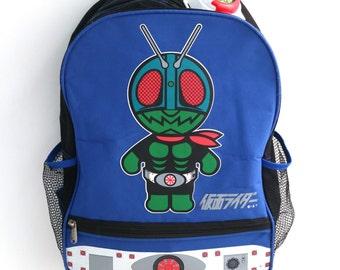 Kamen Rider accessorised backpack (sale)