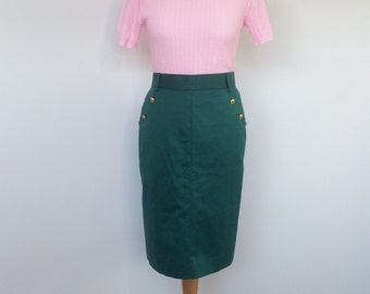 Pin Up Sweater Soft Pink 1970s does 1950s