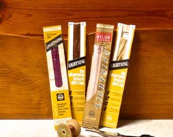 Vintage Collection Zip Fasteners / Zippers Original Packaging