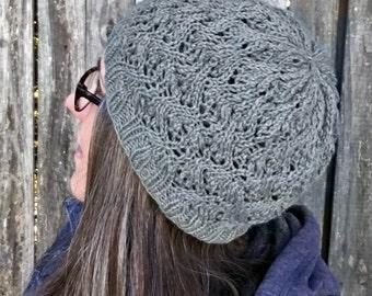 Knitting Pattern ~ Grace Beanie ~ Knitting Pattern