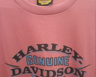 Harley Davidson Motorcycle t shirt tshirt special series 2 prints graphics front back size xxl made USA