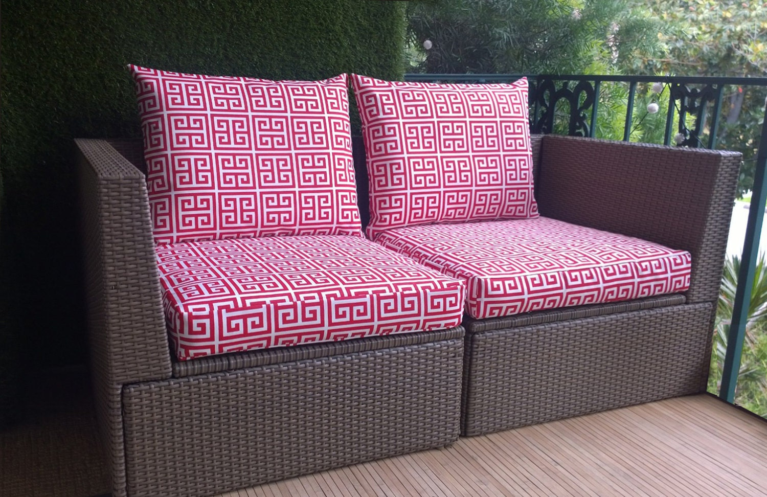 Custom patio cushion covers 17 best ideas about custom for Outdoor cushion covers