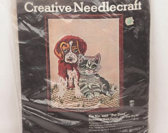 needlepoint kit // sultana // pet duet