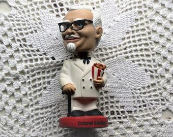 colonel sander bobble head