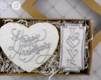 Anniversary Sugar Cookies Box Set