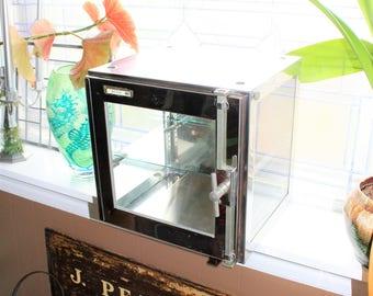 Chrome Sterilizer Sanitizer Cabinet Vintage Industrial Decor