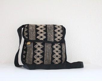 ethnic woven cross body