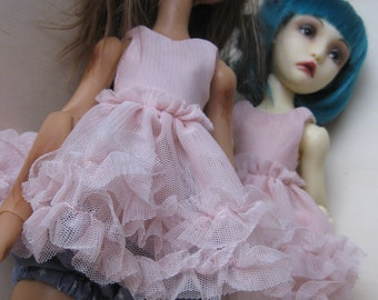 Fluffy mesh top for Cerisedolls (classic and cartoon)