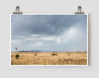 West Texas Landscape Marfa Alpine Fine Art Photography Print