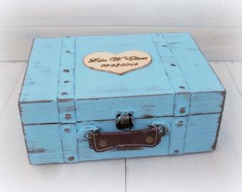 souvenir bo te souvenir b b enfant valise malle time capsule. Black Bedroom Furniture Sets. Home Design Ideas