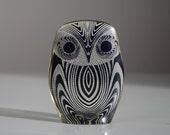 Vintage Abraham Palatnik Owl Figurine Sculpture