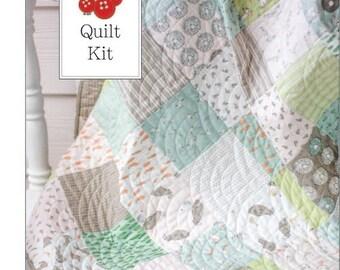 On Sale Darling Little Dickens Baby Quilt Kit  - One Quilt Kit - Quilt Kit for Beginners - DLDQK