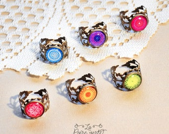Filigree ring - choose your pattern !
