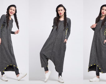 black stripe wool dress wool pants black woolen dress cashmere dress cashmere coat jackets
