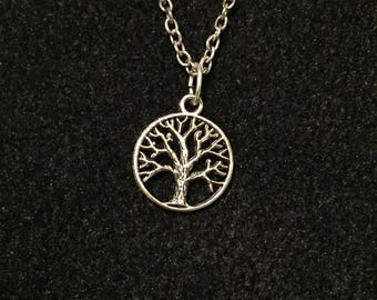 Charm necklace: Tree of Life