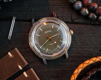 Men's wrist watch, Vintage Boctok Wostok watch, vintage men's watch, vintage mechanical watch, soviet watch, russian watch, retro watch