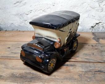 McCoy Touring Car, Cookie Jar, McCoy Cookie jar, McCoy, Touring Car Cookie Jar, Car, Cookie Jar, Antique Car , Car Collector
