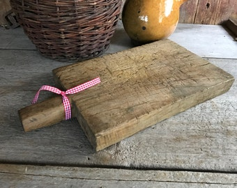 French Wood Chopping Board, Cutting, Serving, French Farmhouse Cuisine