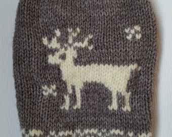 Hand Knitted Sweater for Dogs-Chihuahua sweater-Pet Sweater-Dog Costume-SizeX S