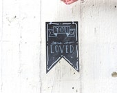 chalkboard art, hand lettered sign, you are so loved, love sign chalkboard, chalkboard sign, handmade sign, gift for her, teacher, friend