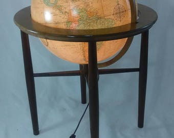 Floor Globe Etsy
