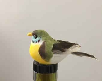 Bird Wine Stopper, Swallow Wine Gift, Bird Wine Gift, Wine Gift for Bird Love,Unique Wine Present,Bird watcher wine Gift, Bird Bottle Topper