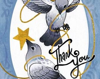 Coey & Shy: Birds (Greeting Cards)