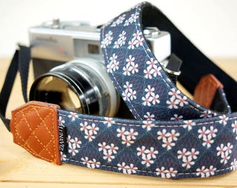 Personalize Camera Strap - Chrysanthemum for DSLR and Mirrorless