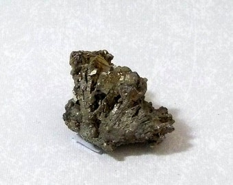 Silver Colored Pyrite Crystal Fool's Gold PYCL-3